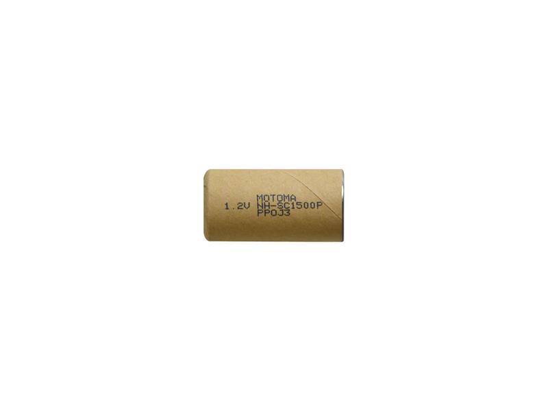 Baterie nabíjecí NiMH SC 1,2V 1500mAh MOTOMA