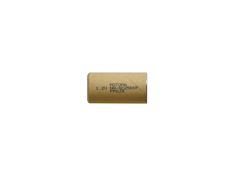 Baterie nabíjecí NiMH SC 1,2V 2500mAh MOTOMA