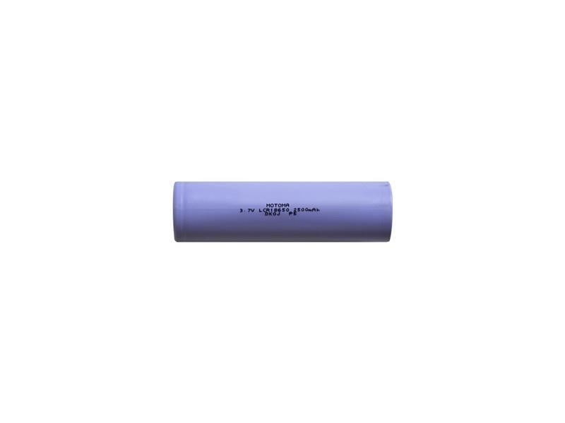 Baterie nabíjecí Li-Ion 18650 3,7V 2500mAh 5C MOTOMA
