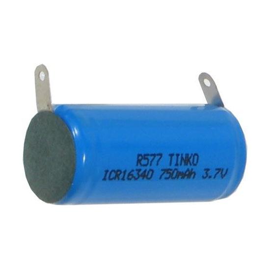 Baterie nabíjecí Li-Ion 16340 3,7V/750mAh TINKO.