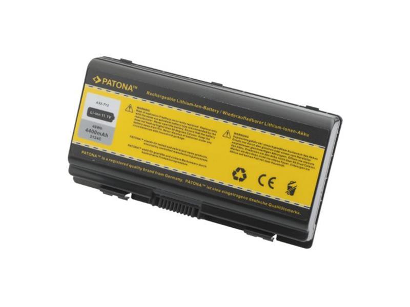 Baterie notebook ASUS X51 / T12 4400mAh 11.1V PATONA PT2124 neoriginální