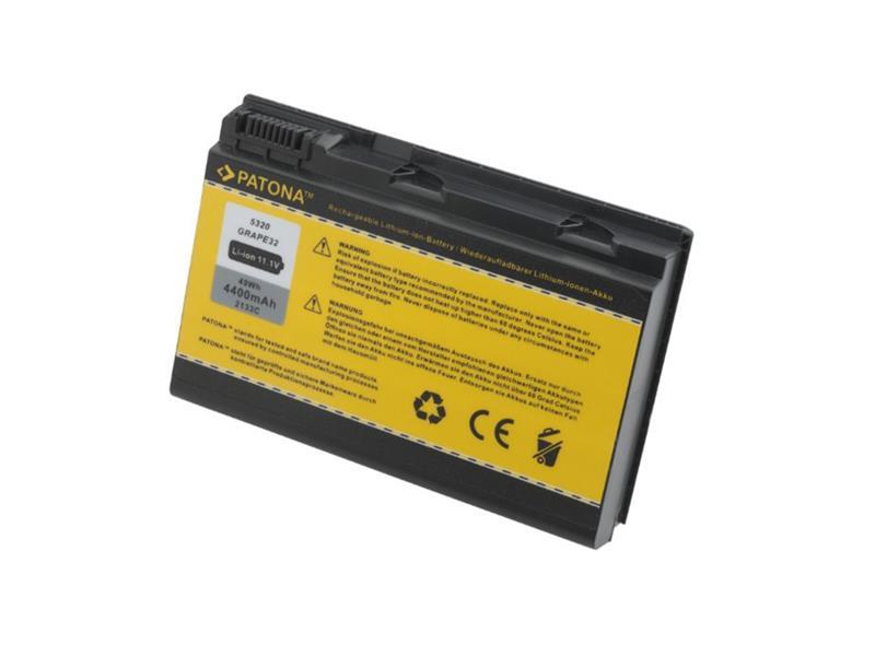 Baterie notebook ACER EXTENSA 5220 / 5620 4400mAh 11.1V PATONA PT2133 neoriginální