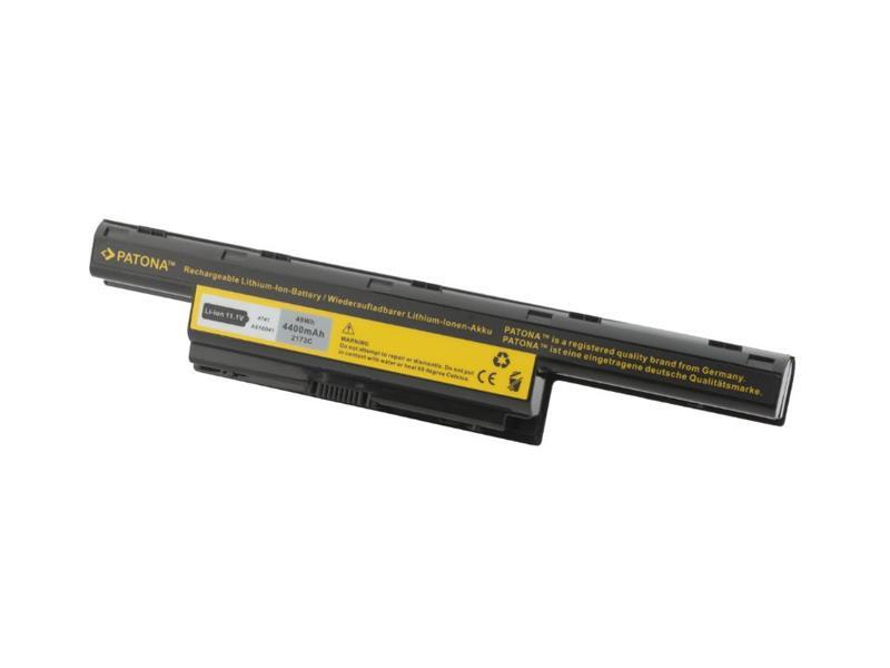 Baterie notebook ACER AS10D31 4400mAh 11.1V PATONA PT2173 neoriginální