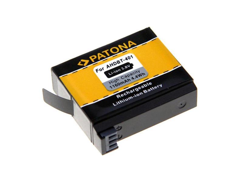 Baterie GOPRO HERO 4 AHDBT-401 1160mAh PATONA PT1235