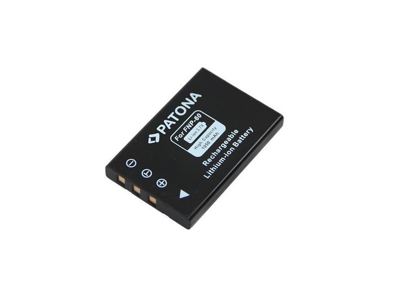 Baterie FUJI NP-60 1050mAh PATONA PT1015