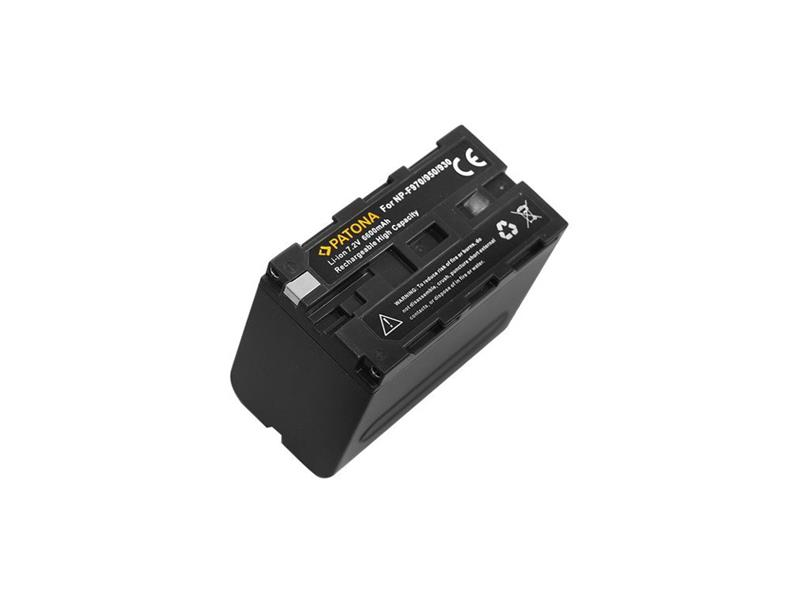 Baterie foto SONY NP-F970 6600mAh PATONA PT1074