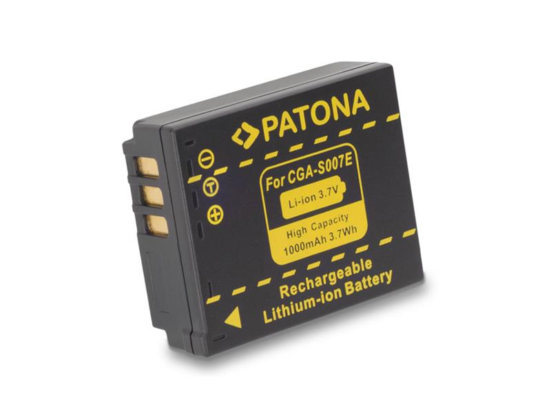 Baterie PANASONIC S007E 1000 mAh PATONA PT1043