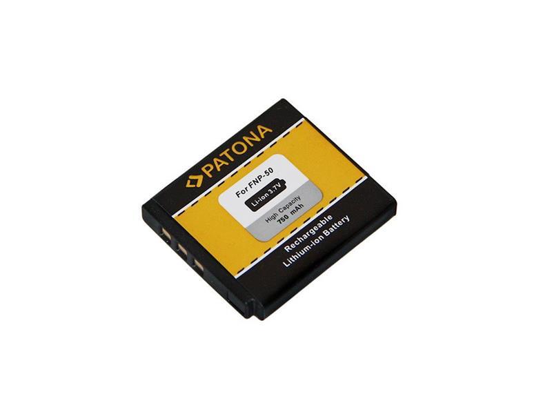Baterie FUJI NP-50 750mAh PATONA PT1014
