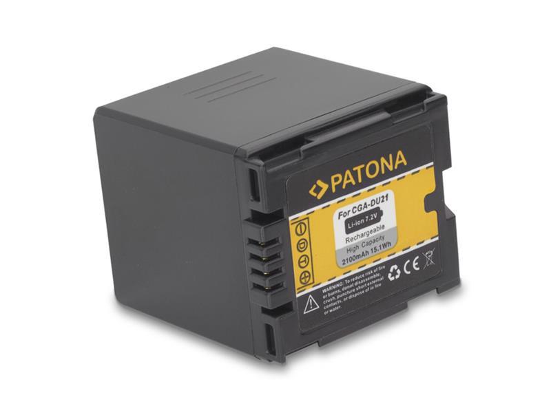 Baterie PANASONIC CGA-DU21 2100 mAh PATONA PT1046
