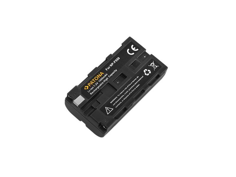 Baterie foto SONY NP-F550 1500mAh PATONA PT1052