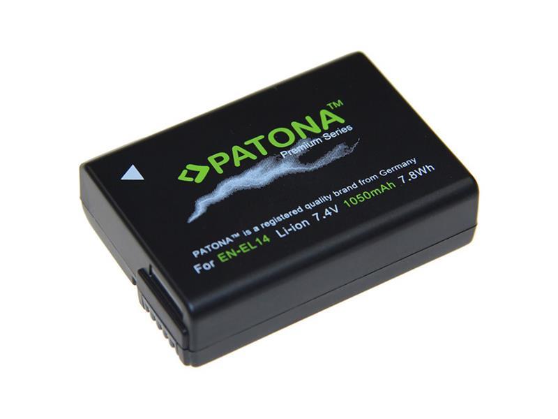 Baterie foto NIKON EN-EL14 1100mAh premium PATONA PT1197