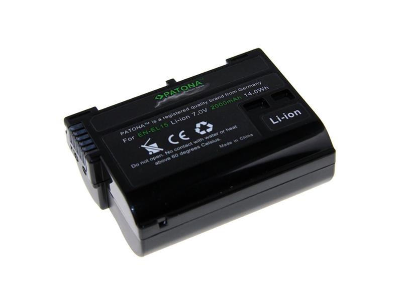 Baterie foto NIKON EN-EL15 2000mAh premium PATONA PT1224