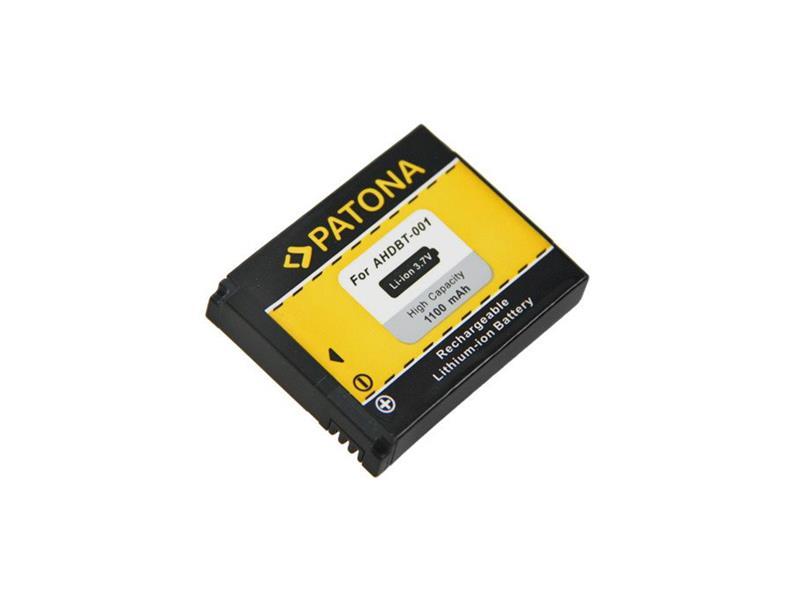 Baterie foto GOPRO HERO ABPAK-001 1100mAh PATONA PT1100