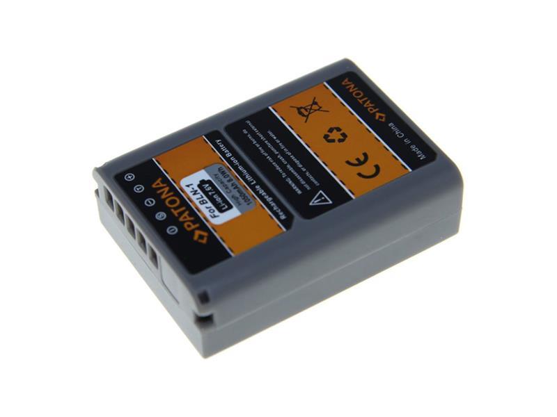Baterie foto OLYMPUS PS-BLN1 1050mAh PATONA PT1206