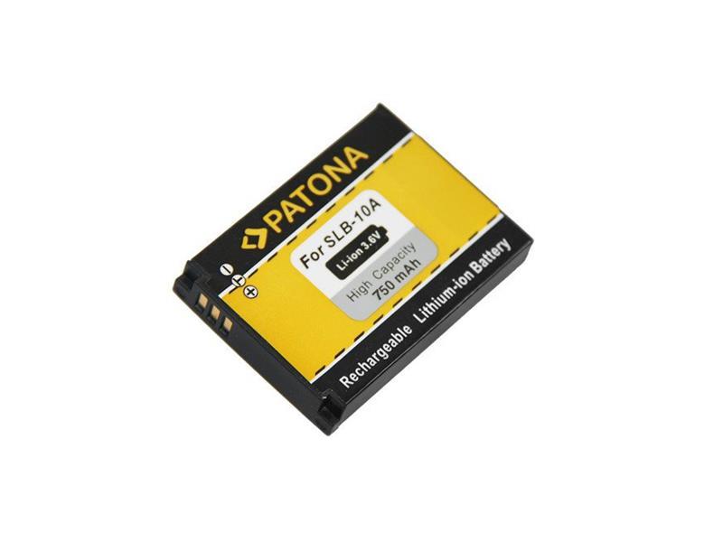 Baterie foto SAMSUNG SLB10A 750mAh PATONA PT1082