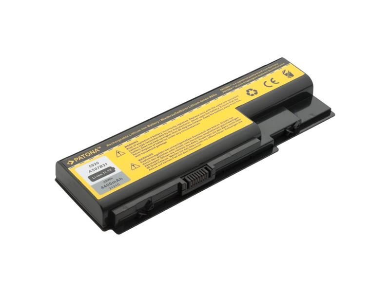 Baterie notebook ACER ASPIRE 5220 / 5920 4400mAh 11.1V PATONA PT2121 neoriginální