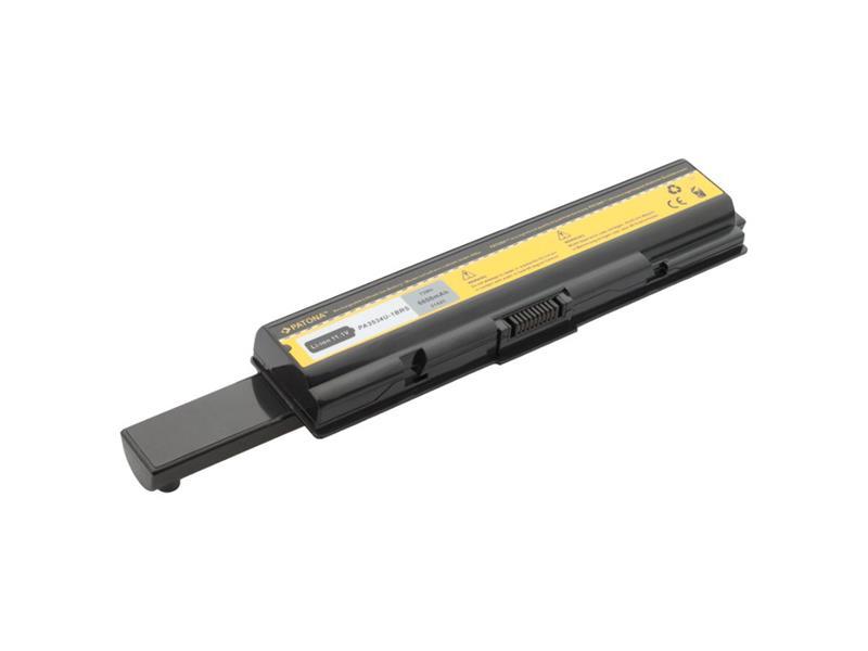 Baterie notebook TOSHIBA SATELLITE A200 6600mAh 10.8V PATONA PT2142 neoriginální