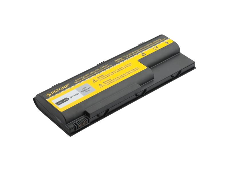 Baterie notebook HP PAVILION DV8000 / 8100 4400mAh 14.4V PATONA PT2150 neoriginální