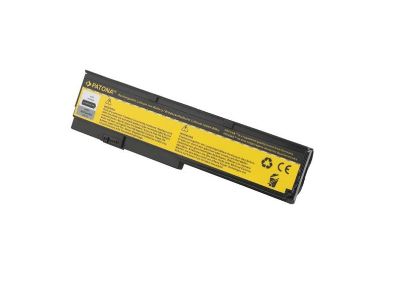 Baterie notebook IBM ThinkPad X200 4400mAh 11.1V PATONA PT2201 + ZDARMA držák do auta