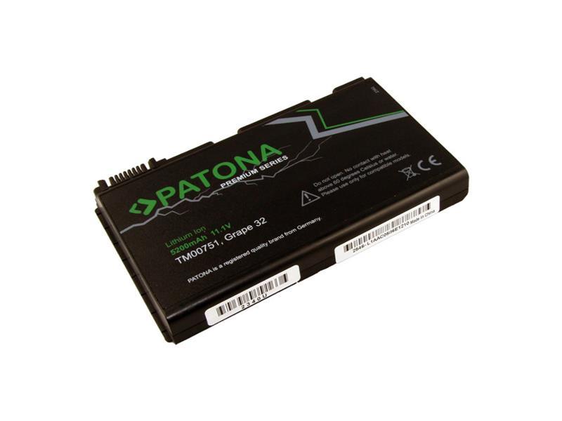 Baterie notebook ACER EXTENSA 5220 5200mAh 11.1V premium PATONA PT2340 neoriginální