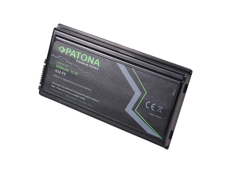 Baterie notebook ASUS F5 / X50 5200mAh 11.1V premium PATONA PT2421 neoriginální