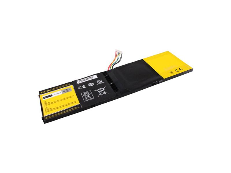 Baterie notebook ACER ASPIRE R7 / V5 / V7 3500mAh 15V PATONA PT2452 + ZDARMA držák do auta