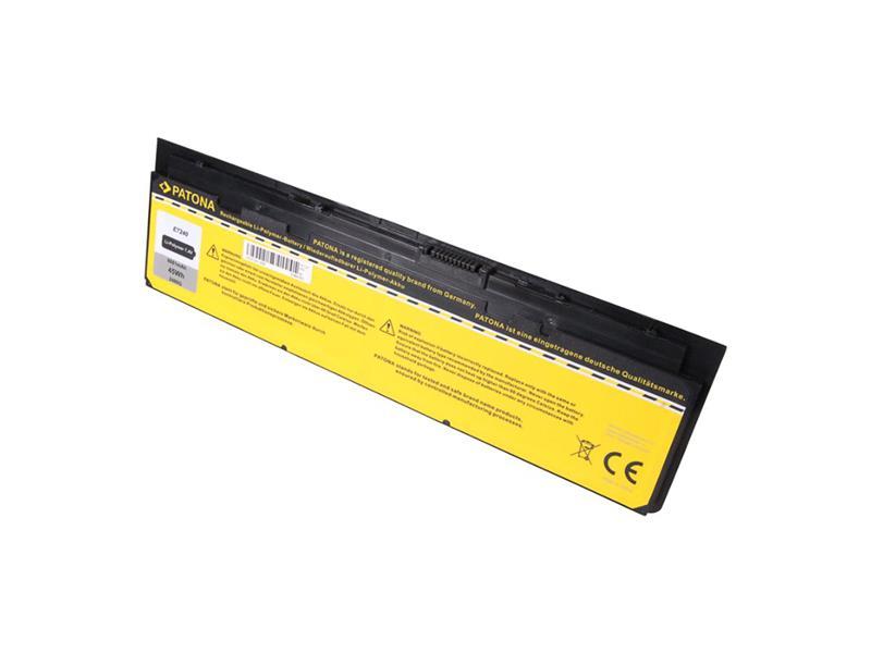 Baterie notebook DELL LATITUDE E7240 6000mAh 7.4V PATONA PT2486 neoriginální