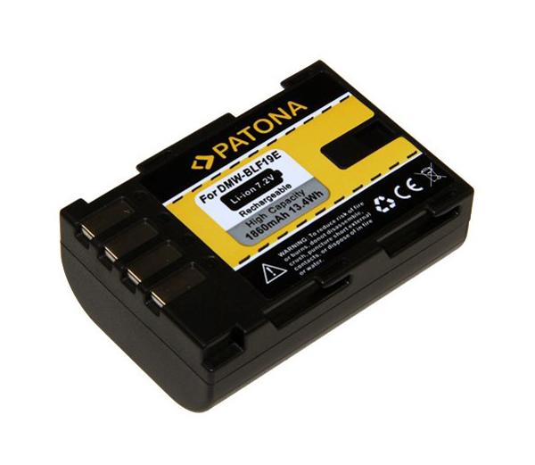 Baterie foto PANASONIC DMW-BLF19 1860mAh PATONA PT1155