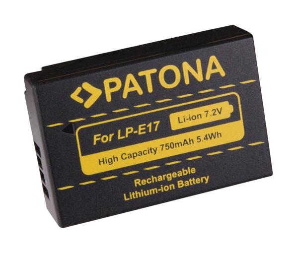 Baterie CANON LP-E17 750 mAh PATONA PT1250