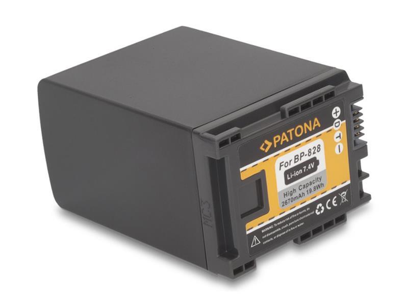 Baterie CANON BP-828 2670mAh PATONA PT1195