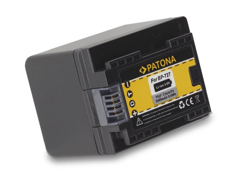 Baterie CANON BP-727 2400 mAh PATONA PT1174