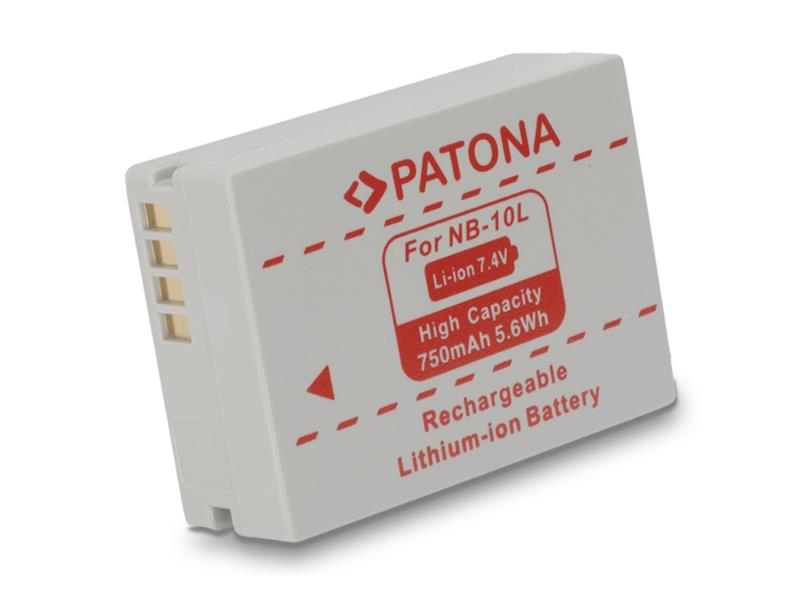 Baterie CANON NB10l 750 mAh PATONA PT1097
