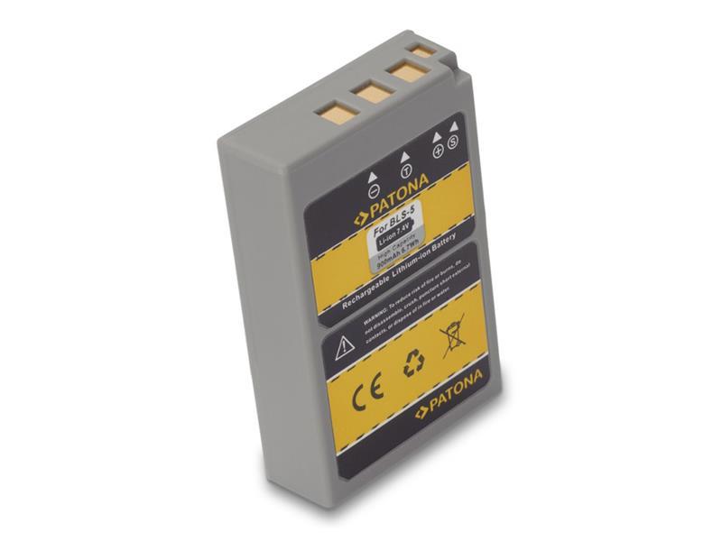 Baterie foto OLYMPUS BLS5 900mAh PATONA PT1191