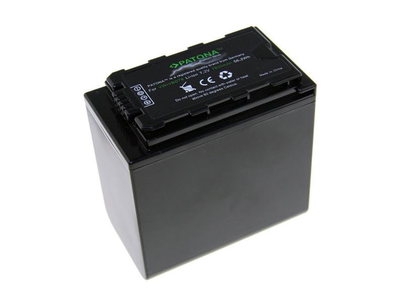Baterie foto PANASONIC VW-VBD78 7800mAh PATONA PT1231