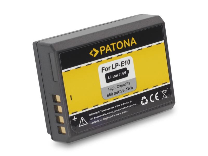 Baterie foto CANON LP-E10 860mAh PATONA PT1089