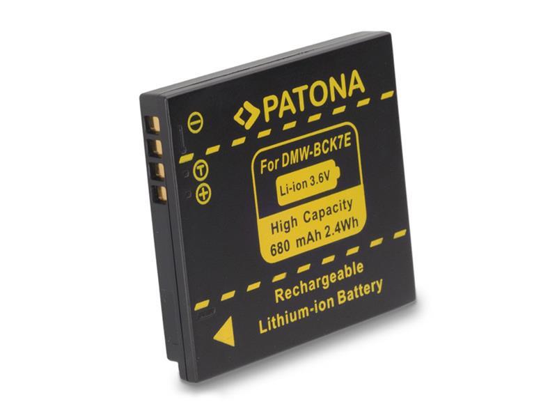 Baterie foto PANASONIC DMW-BCK7E 680mAh PATONA PT1091
