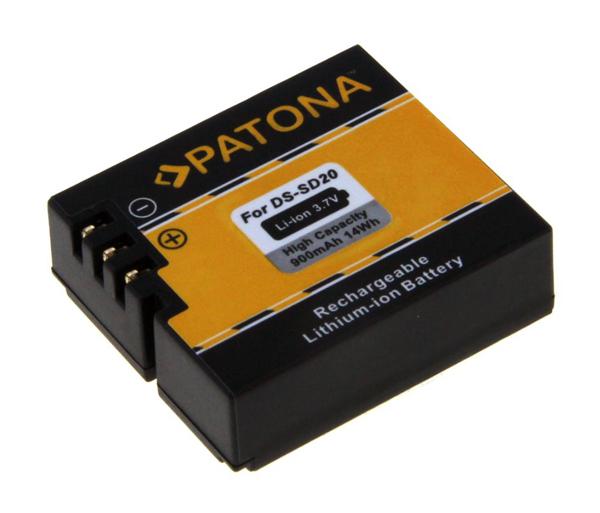 Baterie foto ROLLEI DS-SD20 900mAh PATONA PT1234