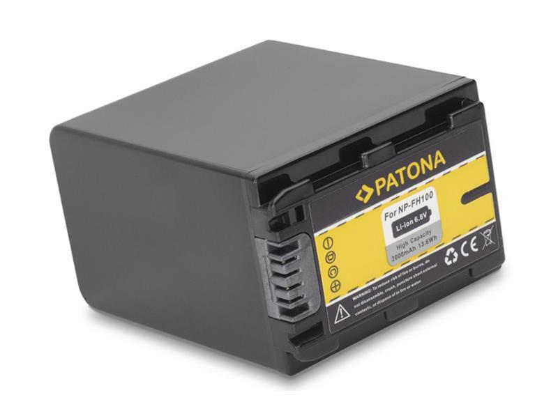 Baterie foto SONY NP-FH100 2000mAh PATONA PT1058