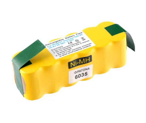 Baterie AKU IROBOT ROOMBA série 5xx / 6xx 3300mAh 14.4V PATONA PT6035