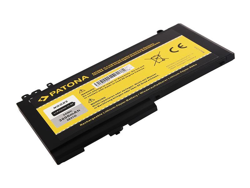 Baterie Dell E5270/E5470/E5570 3000mAh Li-lon 11.4V verze 451-BBPD PATONA PT2831