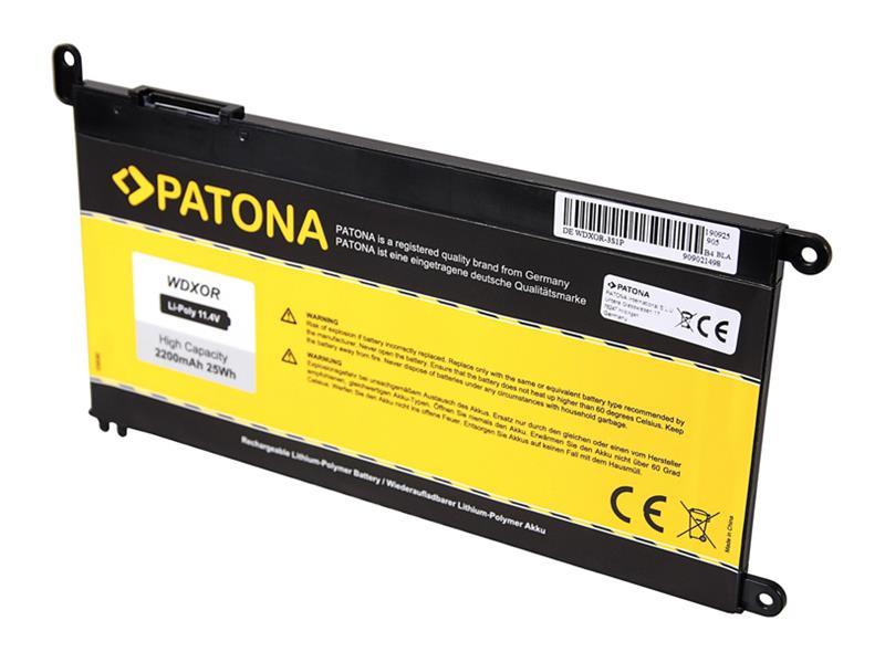 Baterie Dell Inspiron 15 5565 3400mAh Li-Pol 11.4V WDXOR PATONA PT2835