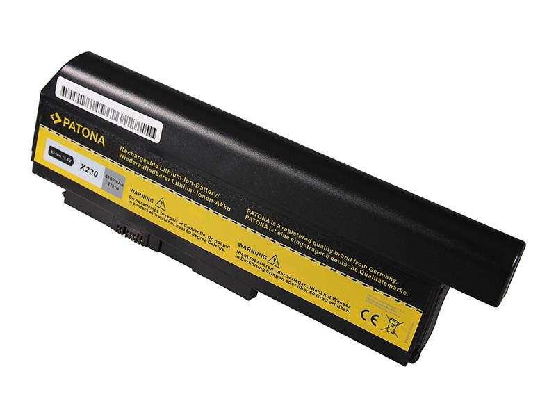 Baterie Lenovo ThinkPad X230/X220 6600mAh Li-Ion 10.8V PATONA PT2791