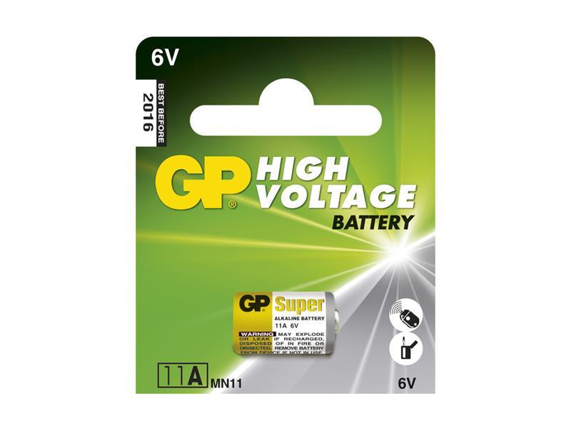 Baterie    11A   alkalická GP