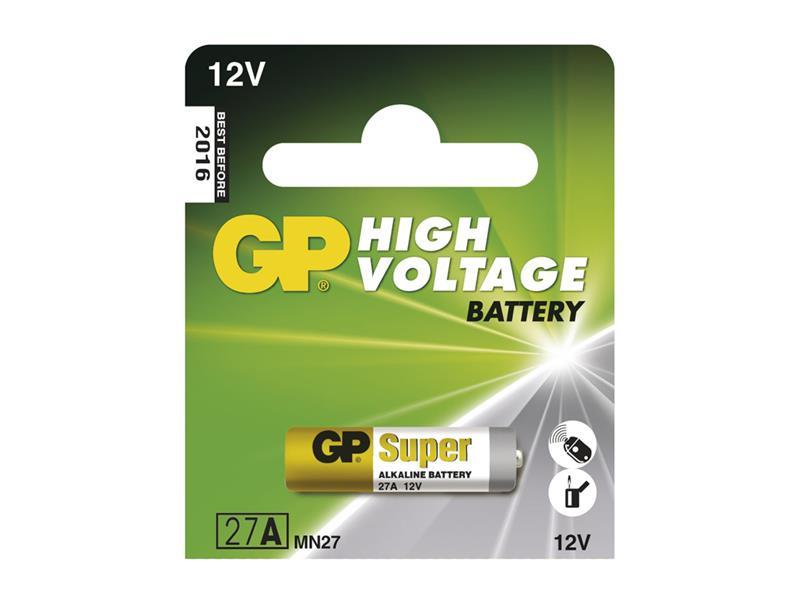 Baterie GP 27A 5 ks v blistru