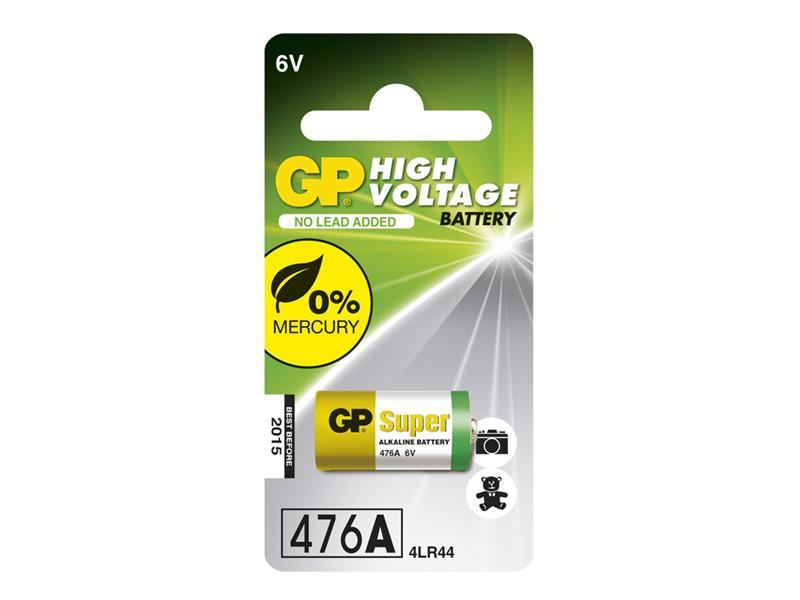 Baterie 476A alkalická GP 1ks v balení