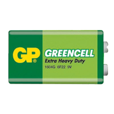 Baterie GP Greencell 9V 1ks - blistr