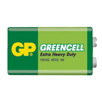 Baterie GP Greencell 9V 1ks - blistr