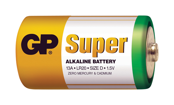 Baterie GP Super Alkaline D 2ks