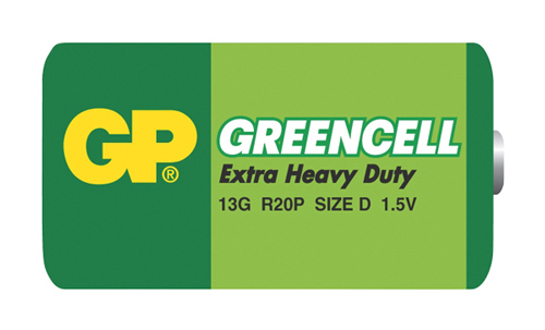 Baterie D (R20)  Greencell  GP