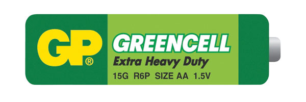 Baterie AA (R6)  Greencell GP